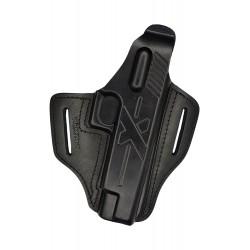 B23 Leather holster black VlaMiTex