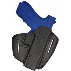 U9 Leather holster black VlaMiTex