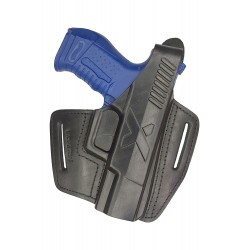 B5 Leather holster black VlaMiTex