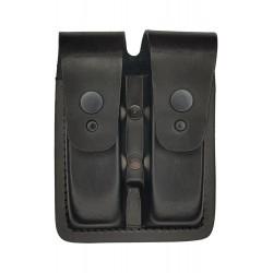M2 Porta-cargador doble multifunción, de cuero, VlaMiTex