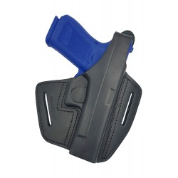 B37 Leder Holster VlaMiTex für Glock 17 / 22 / 31