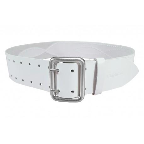 G3 Cinturón de piel de 5 cm de ancho blanc VlaMiTex