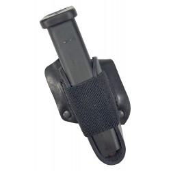 M7Li Single 2 Magazine Holder black left-handed VlaMiTex